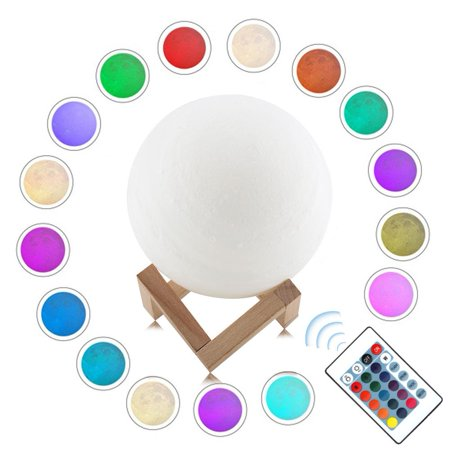 Yosoo Moon Lamp USB LED Night Light Touch Sensor Moon Lamp Desk Moonlight Gift , USB LED Night Light, Moonlight Lamp