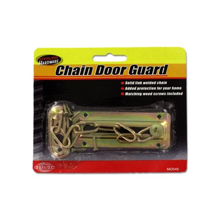 Chain Door Guard With Screws (Pack Of 24)