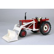 International Harvester Farmall 544 Gas Narrow Front Tractor with Loader 1/16 Diecast Model Car by Speccast