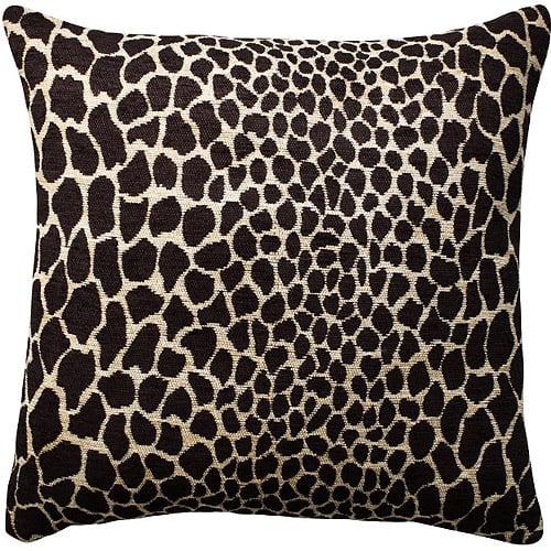 Home Trends Plush Giraffe Black And Light Gold