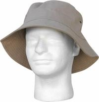 Adult Khaki Bucket Hat~Large / Tan