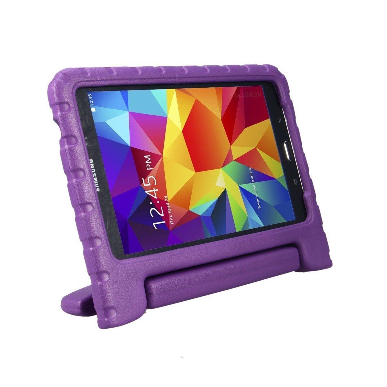 Galaxy Tab A 7.0 T280 Kids Case by KIQ Child-Friendly Fun Kiddie Tablet Cover EVA Foam For Samsung Galaxy Tab A 7.0 Inch SM-T280 (Blue)