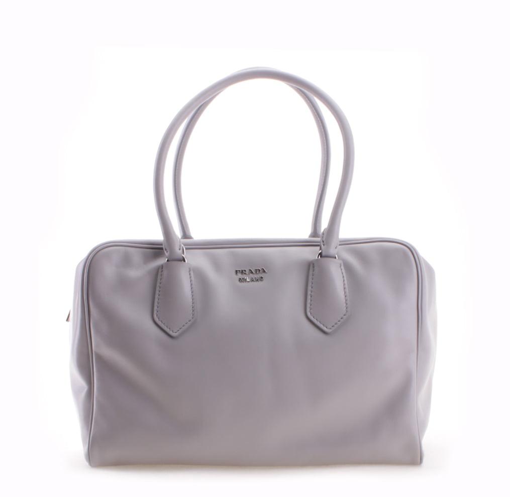 Prada Soft Calf Leather Inside Bag Shoulder Handbag