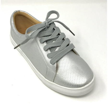 Forever Young Women's Perforated Lace up Sneakers ()