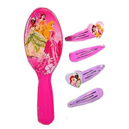 Disney Princess Hair Brush Accessory Set (Brush Accessories)