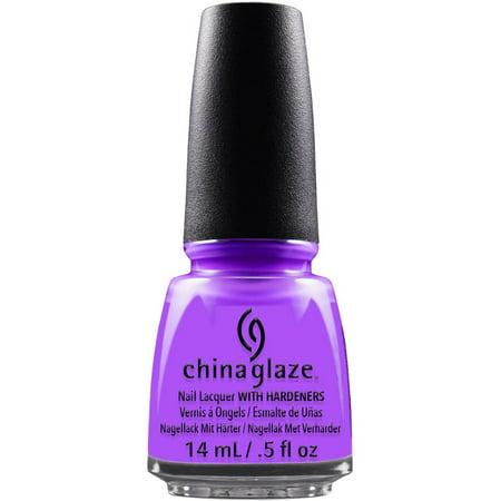 China Glaze Nail Lacquer Violet-Vibes, 0.5 fl oz