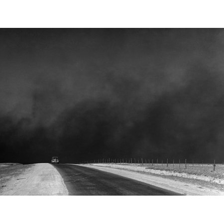 Dust Bowl, 1936 Print Wall Art By Arthur Rothstein ()