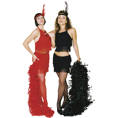 Sexy Flapper Red Adult Halloween Costume