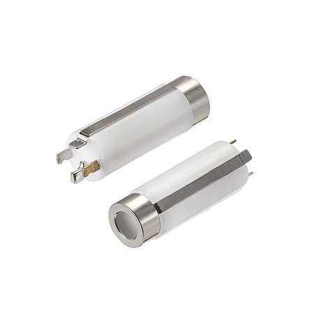 Copper Nickel Replacement - Headphone Jack Adapter 3.5mm 4 Pole Stereo Female Replacement Copper Nickel Plating for Repair Earphone White 5pcs