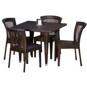 5-Pc Eco- Friendly Outdoor Dining Set