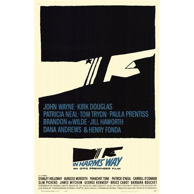 Posterazzi MOV198600 In Harms Way Movie Poster - 11 x 17 in. - image 1 of 1