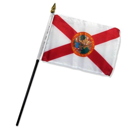 Florida State Steak (4x6 Florida Stick Flag State of Florida Stick Flag Table Staff Desk Table)