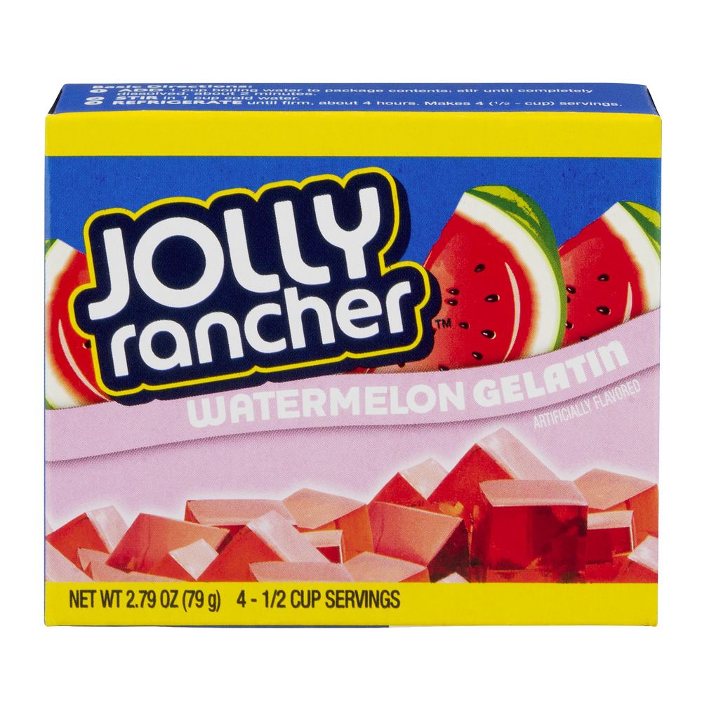 Jolly Rancher Watermelon Gelatin, 2.79 OZ