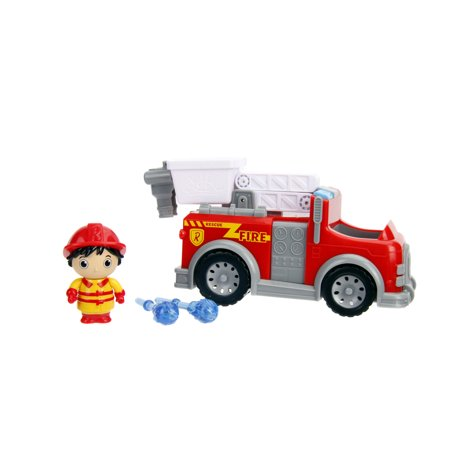 Jada Toys Ryan's World 6 Inch Ryan and Fire Engine