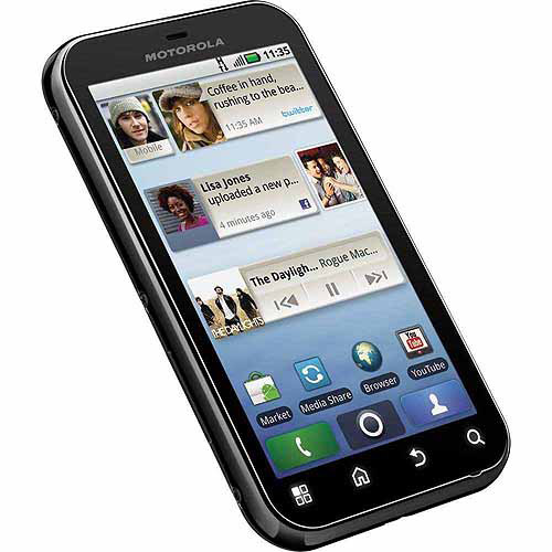 Motorola DEFY Smartphone (Unlocked), Black