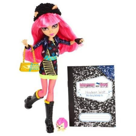Monster High 13 Wishes Howleen Wolf Doll - Howleen From Monster High