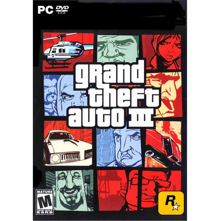 Image of Grand Theft Auto III (PC) (Digital Code)