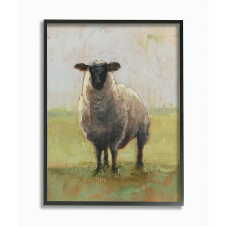 Stupell Industries Painterly Away From Flock Sheep Framed Wall Art by Ethan Harper