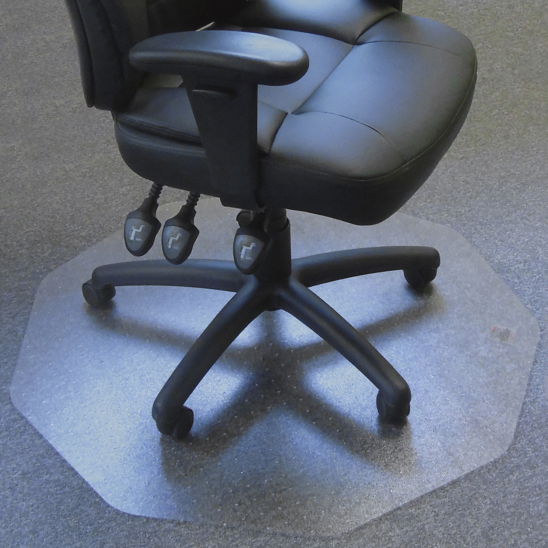 Cleartex, FLR121001009R, Ultimat 9 Hard Floor Chair Mat, 1 Each, Clear