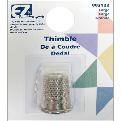Brass Plated English Thimble-Large