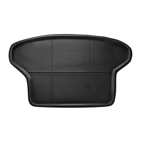 Black Rear Trunk Tray Boot Liner Cargo Floor Mat Cover for  Prius