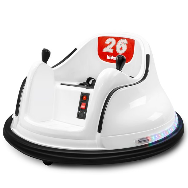 Kidzone Diy Number 6v Kids Toy Electric Ride On Bumper Car Vehicle Remote Control 360 Spin Astm Certified 1 5 6 Years Walmart Com Walmart Com