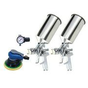 Best Hvlp Sprayers - Titan 19223 4-Piece HVLP Dual Setup Spray Gun Review