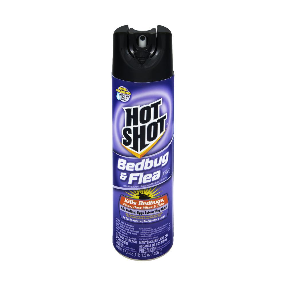 Hot Shot Aerosol Bedbug Killer 17 5 Oz Walmart Com