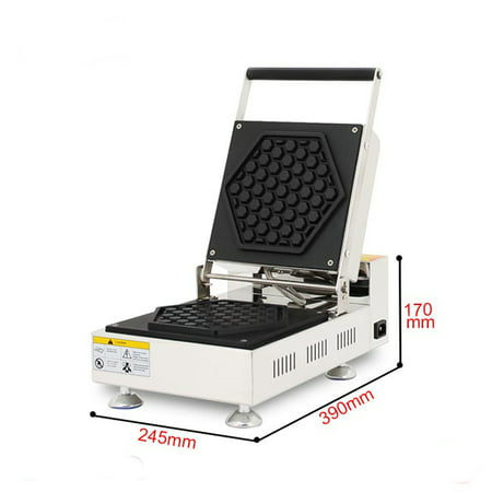 INTBUYING Electric Honeycomb Waffle Maker Machine Non-Stick Coating 110V - image 3 of 5