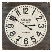 Talbert Wall Clock - 26.75 in. sq.