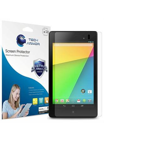 Nexus 7 FHD Screen Protector, Tech Armor Anti-Glare/Anti-Fingerprint Google Nexus 7 FHD (2013) Film Screen Protector (Best Nexus 5 Screen Protector)