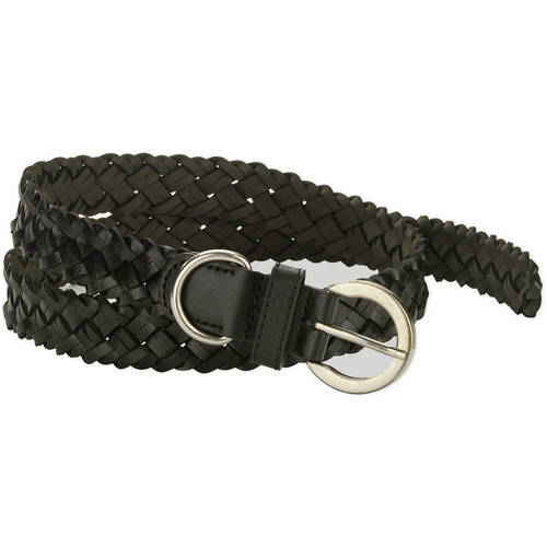 Faded Glory Herringbone Braided Women's Belt