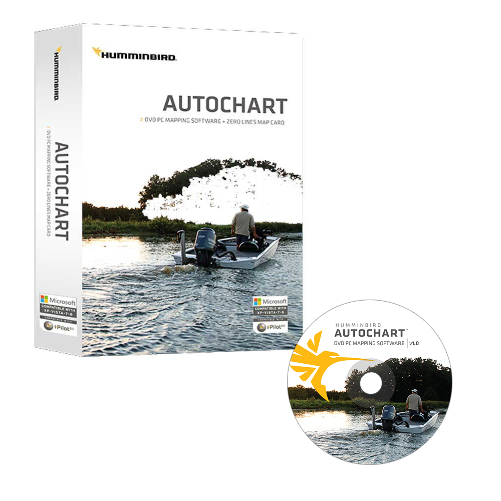 Humminbird Electronic Chart AutoChart by Humminbird