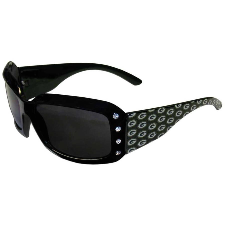 NFL Green Bay Packers Women's Designer Sunglasses with Rhinestones
