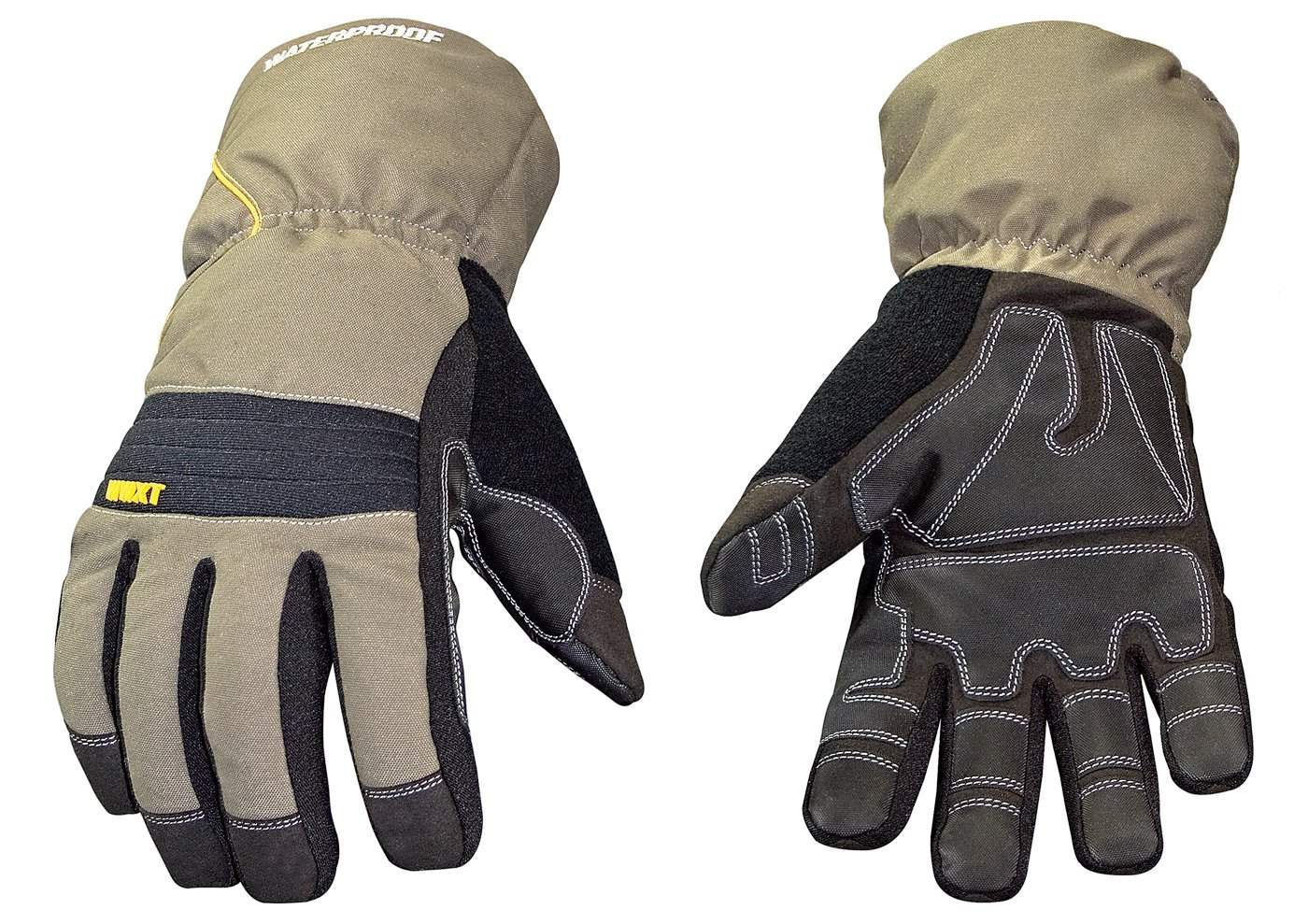 Youngstown Glove 11-3460-60-M Waterproof Winter XT 200 gram Thinsulate Waterproof Glove, Gray and Black, Medium by