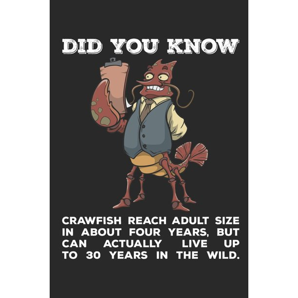 Did You Know? : Funny Crawfish Notebook for any seafood ...