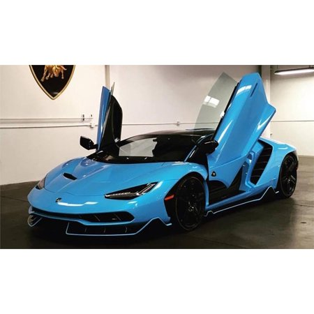 Lamborghini Centenario Metallic Light Blue In 1 18 Scale By Autoart