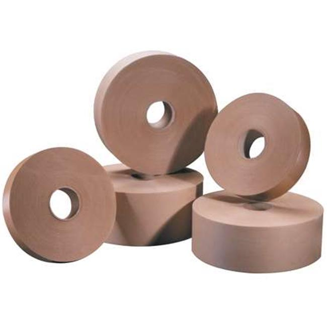 Tape Logic T26000 2 in. x 600 ft. Kraft No.6000 Non Reinforced Water Activated Tape, Kraft - Case of 15 - image 1 of 1
