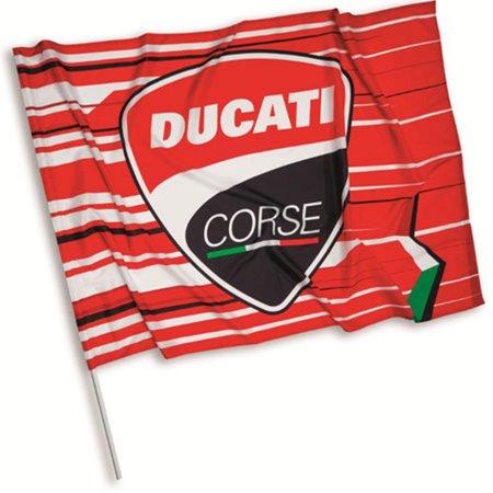 Ducati Corse Sticker - Ducati 2017 Corse Flag 987695090