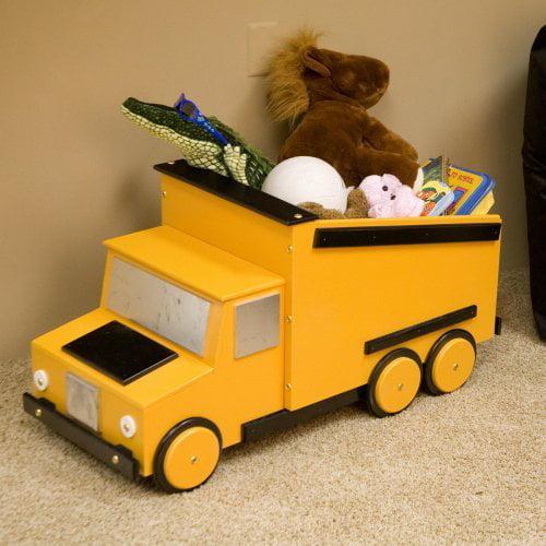 Just Kids Stuff Dumptruck Toy Chest