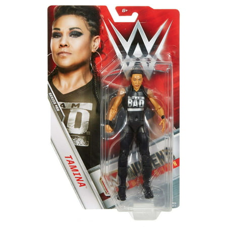WWE Tamina 6-inch Articulated Action Figure with Ring Gear