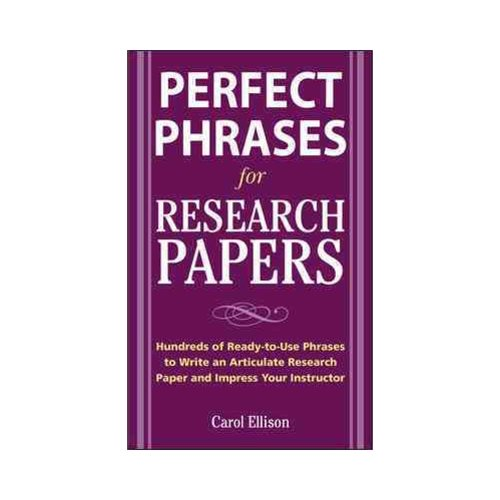 McgrawHillS Concise Guide To Writing Research Papers  WalmartCom