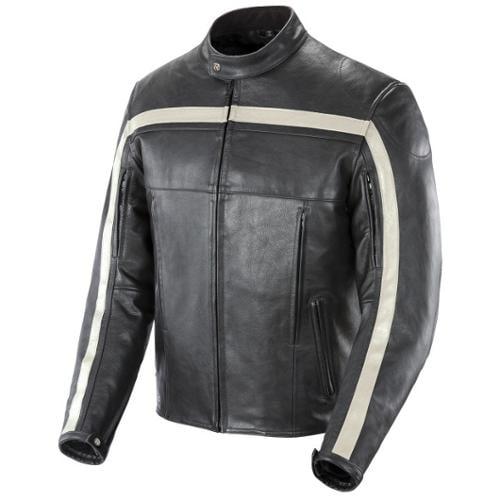 Joe Rocket Old School Leather Jacket Black