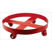 Drum Dolly Caster Mobile Moving for 55 Gal Gallon Steel Drums Rack Stand Wheels