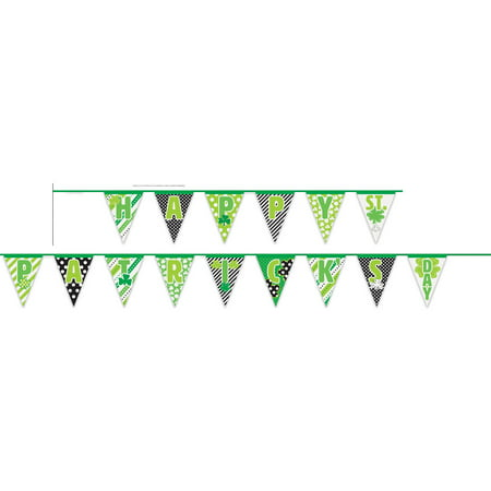 Happy St. Patrick's Day Pennant Banner, 14ft