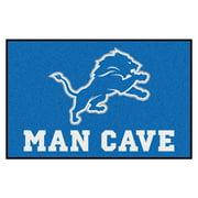 """NFL - Detroit Lions Man Cave Starter Rug 19""""x30"""""""