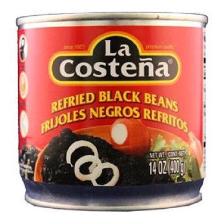 Product Of La Costena, Refried Black Beans, Count 1 - Mexican Food / Grab Varieties & Flavors