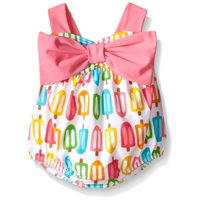 Mud Pie Baby or Girls Popsicle One Pc Swimsuit 12-18 months