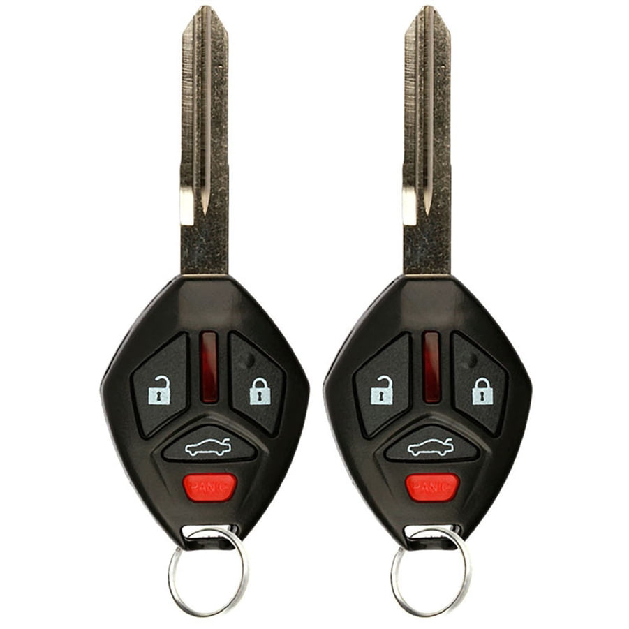 KeylessOption Keyless Entry Remote Uncut Car Ignition Chip Key Fob Replacement for OUCG8D-620M-A