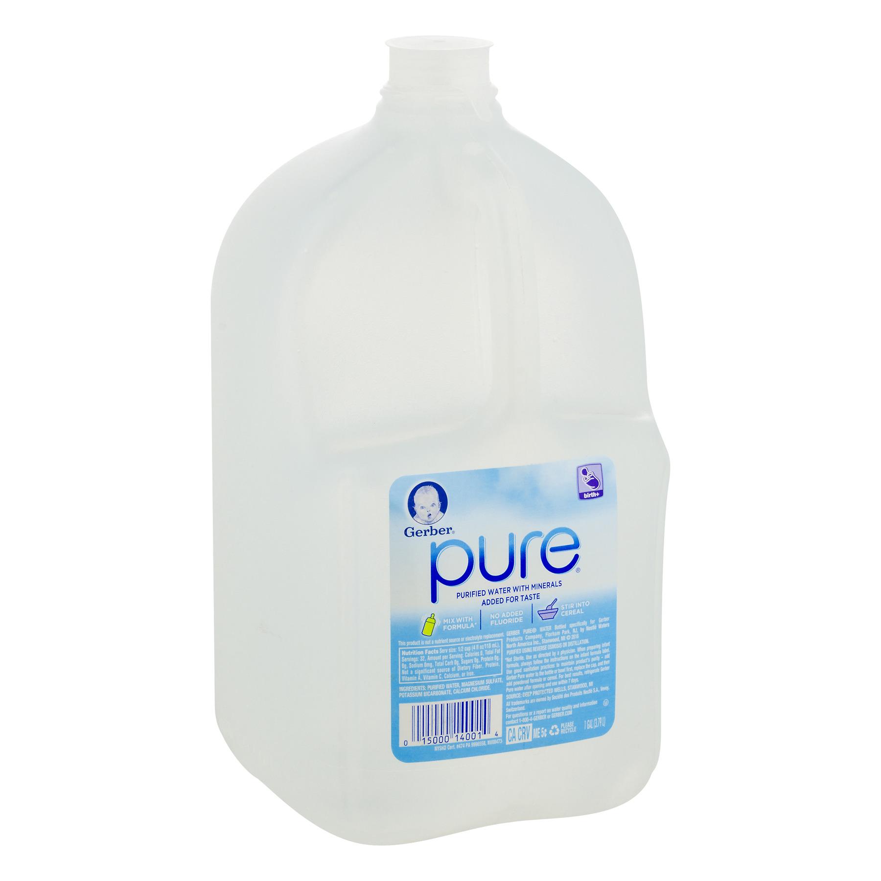 Gerber Pure Purified Water 128 Fl Oz 1 Count Walmart